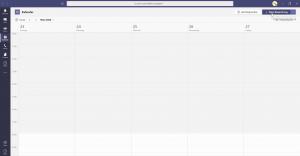 Planung einer Besprechung in Microsoft Teams
